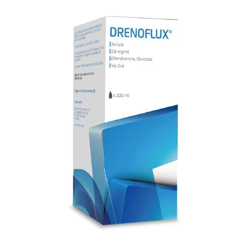 Embalagem Xarope 200ml Drenoflux Decomed